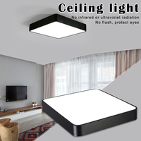 Nova moderna lâmpada do teto led 18 w quadrado 30x30cm de poupança energia para casa quarto sala estar sf66|Luzes de teto| |  -