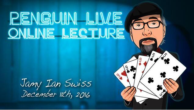 Jamy Ian Swiss Penguin Live ACT MAGIC TRICKS
