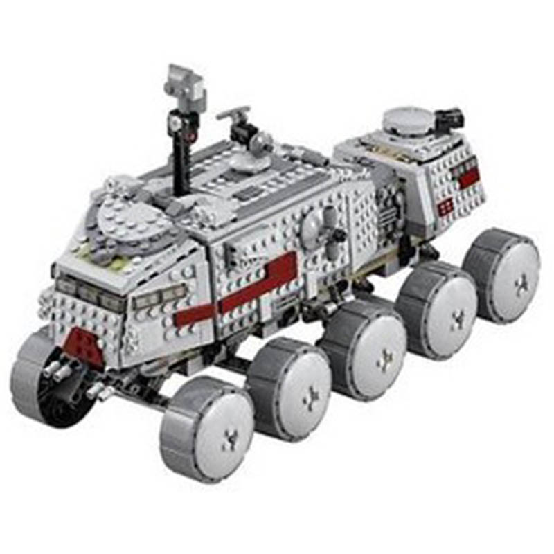 05031 933Pcs Clone Turbo Tank 75151 Building Blocks Bricks Compatible With Legoinglys 75151 Children Toys Gifts