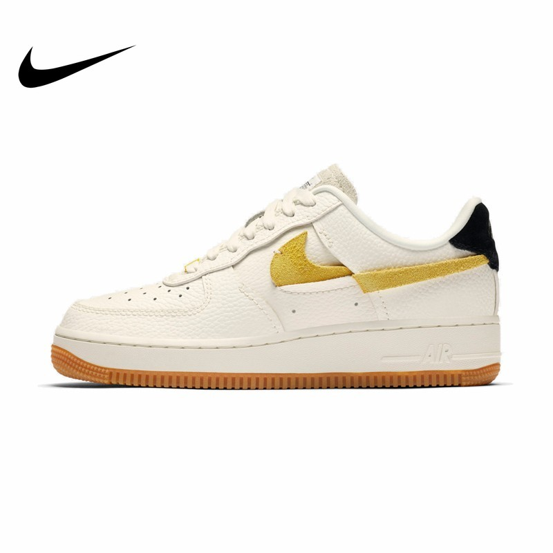 NIKE Air Force 1 Skateboarding Shoes Men Women Lightweight Comfortable Unisex Sneakers BV0740-101 Original New Arrival Hot