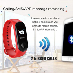 Image 5 - M3 Pro สมาร์ทกันน้ำฟิตเนส Tracker Step Counter Call Message Reminder สร้อยข้อมือสำหรับผู้ชายผู้หญิงเด็ก