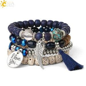 CSJA Vintage Bracelets Set Imi