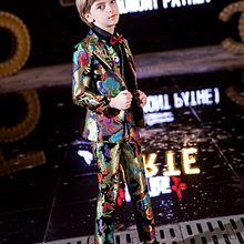 YuanLu 2019 Blazer Boys Suits Formal Costume Toddler Clothes