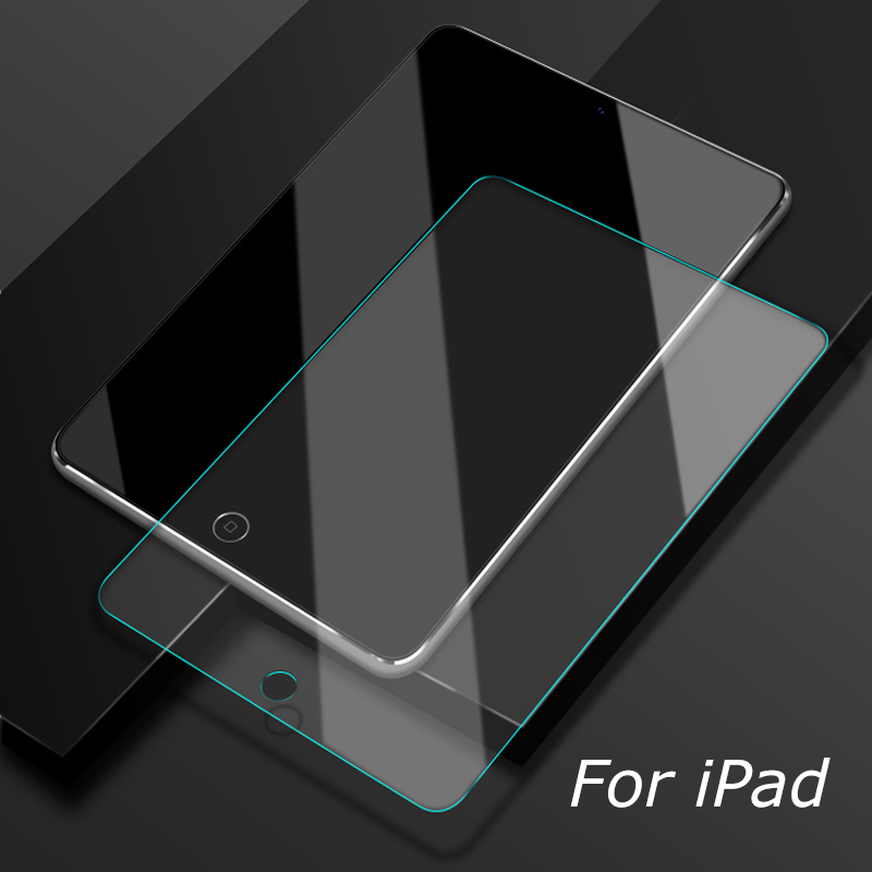 Clear Screen Protector Tempered Glass For Apple iPad Protective Film 1