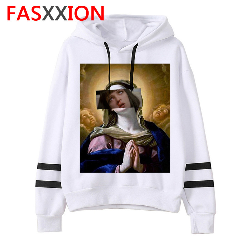 Pulp Fiction Hoodie Harajuku Ulzzang Men/women Graphic Tumblr Grunge Sweatshirt Casual Oversized Funny Male/female