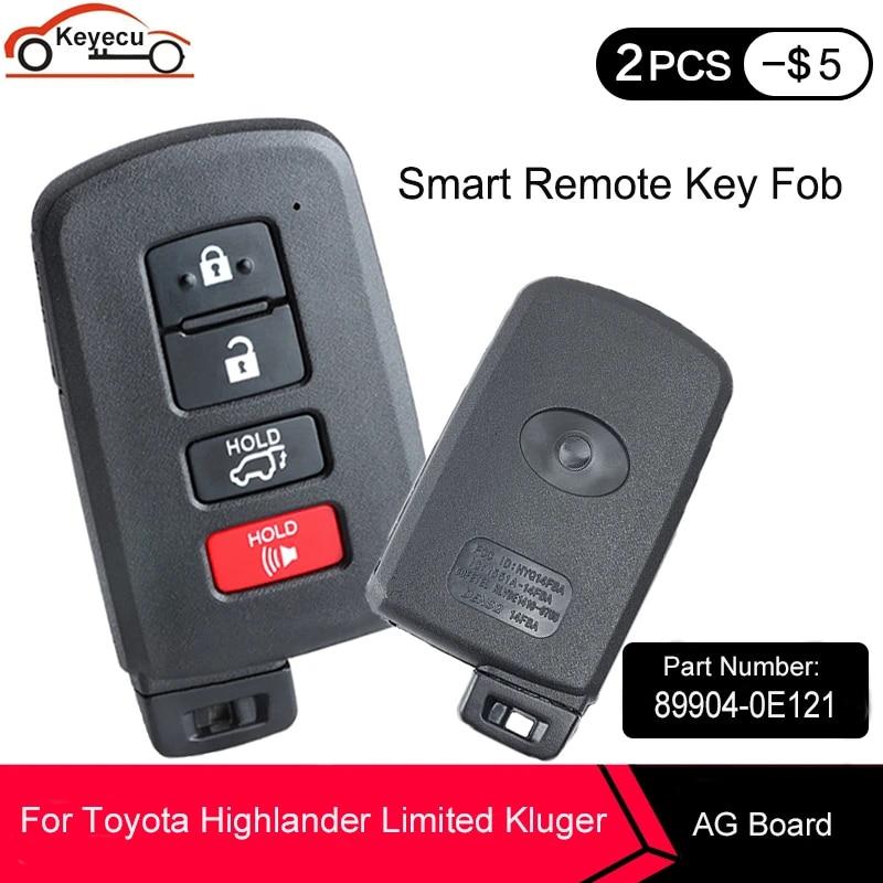 Transmitter: 281451-2110 AG, Stock Nr: TS-25 BexKeyless New Replacement Remote Car Key Fob fits HYQ14FBA 315MHZ 2004-2019 Toyota Highlander