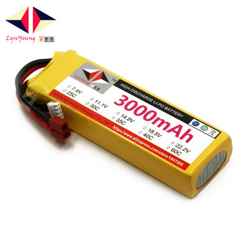 цена на 11.1V 3000mAh 25C 30C 35C 40C 60C 3S Lipo Battery For RC Boat Car Truck Drone Helicopter Quadcopter Airplane UAV