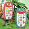 Montessori Musical Toy For Baby 2 Years Phone Children Mobile Phone For Toddler Girls 13 24 Month Phone For Kids 1 Year Boy Gift