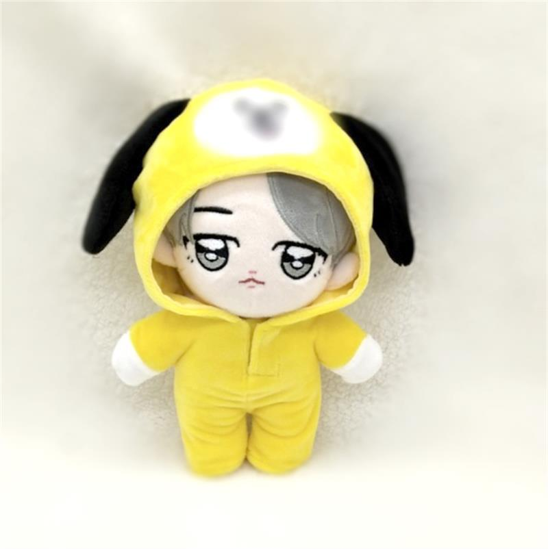Handmade 20cm KPOP JIMIN Plush Doll With Clothes Fans Gift PP Cotton  Stuffed Dolls Toy High quality Star Doll's Accessories|Dolls| - AliExpress