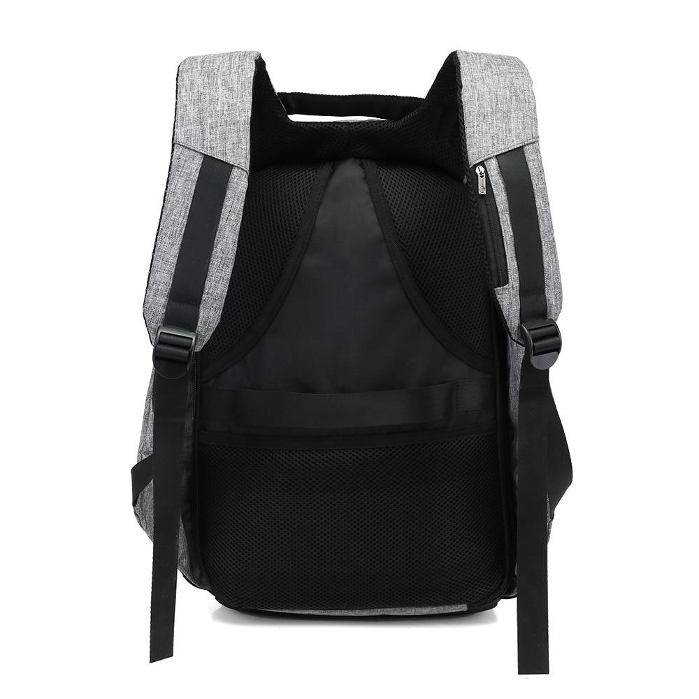 15 pouces sac à dos pour ordinateur portable USB charge Anti vol sac à dos hommes voyage sac à dos étanche sac d'école mâle Mochila - 4