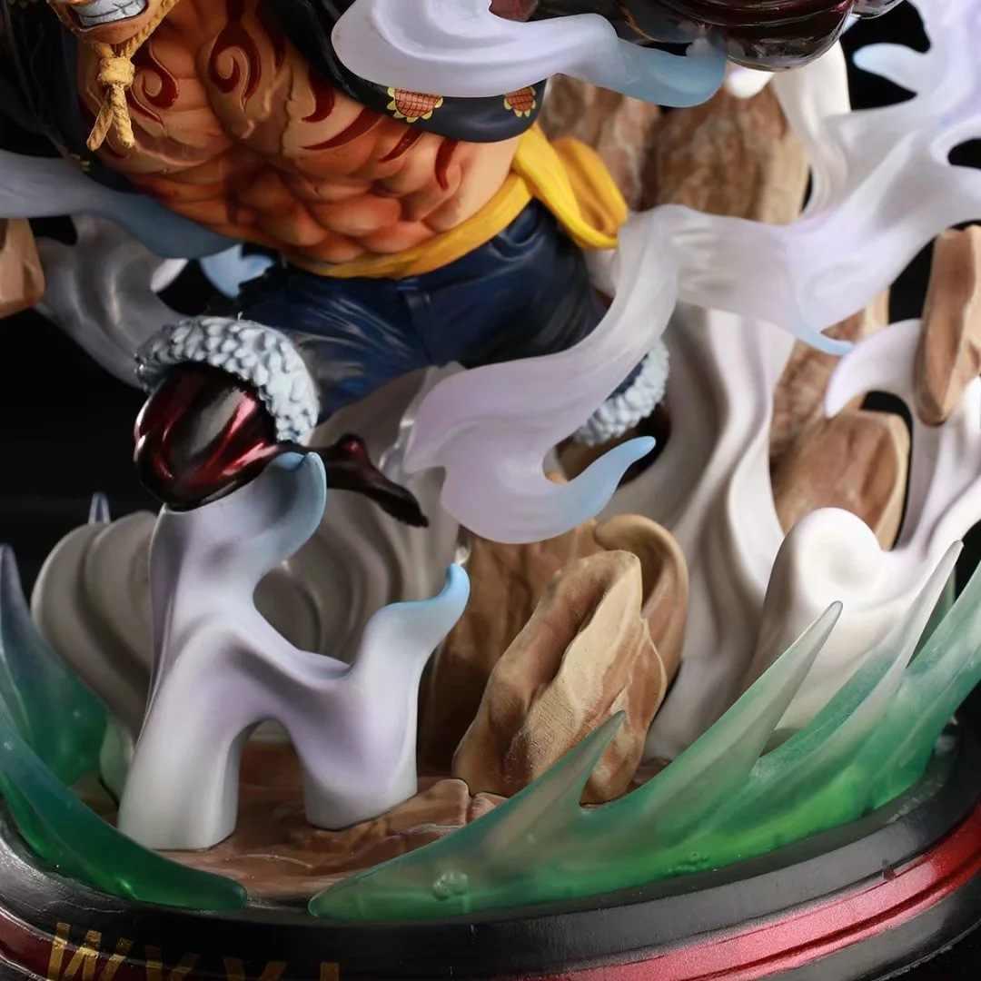 Anime One Piece GK Homem Cobra Engrenagem Quarta Luffy Grande Ação PVC Figura Toy