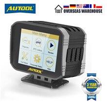 Autool X80 Hud OBD2 Head Up Display Obd Diagnostic Tool Speed Projector Auto Snelheidsmeter Overspeed Waarschuwing Alarmsysteem Voor Auto