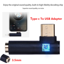 Hot Typec To USB Adapter Type C to 3.5mm AUX Audio Cable Headphone Type-C 3.5 Earphone for Huawei Xiaomi