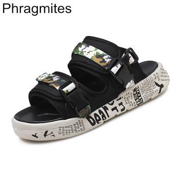 2020 Phragmites Lightweight Men Sandals Summer Students Roman Sandals Beach Gladiator Men's Outdoor Flat Sandal Sandal Slippers