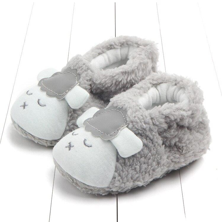 Cute Cartoon Newborn Baby Girls Boys Anti-Slip Socks Slipper Shoes Boots