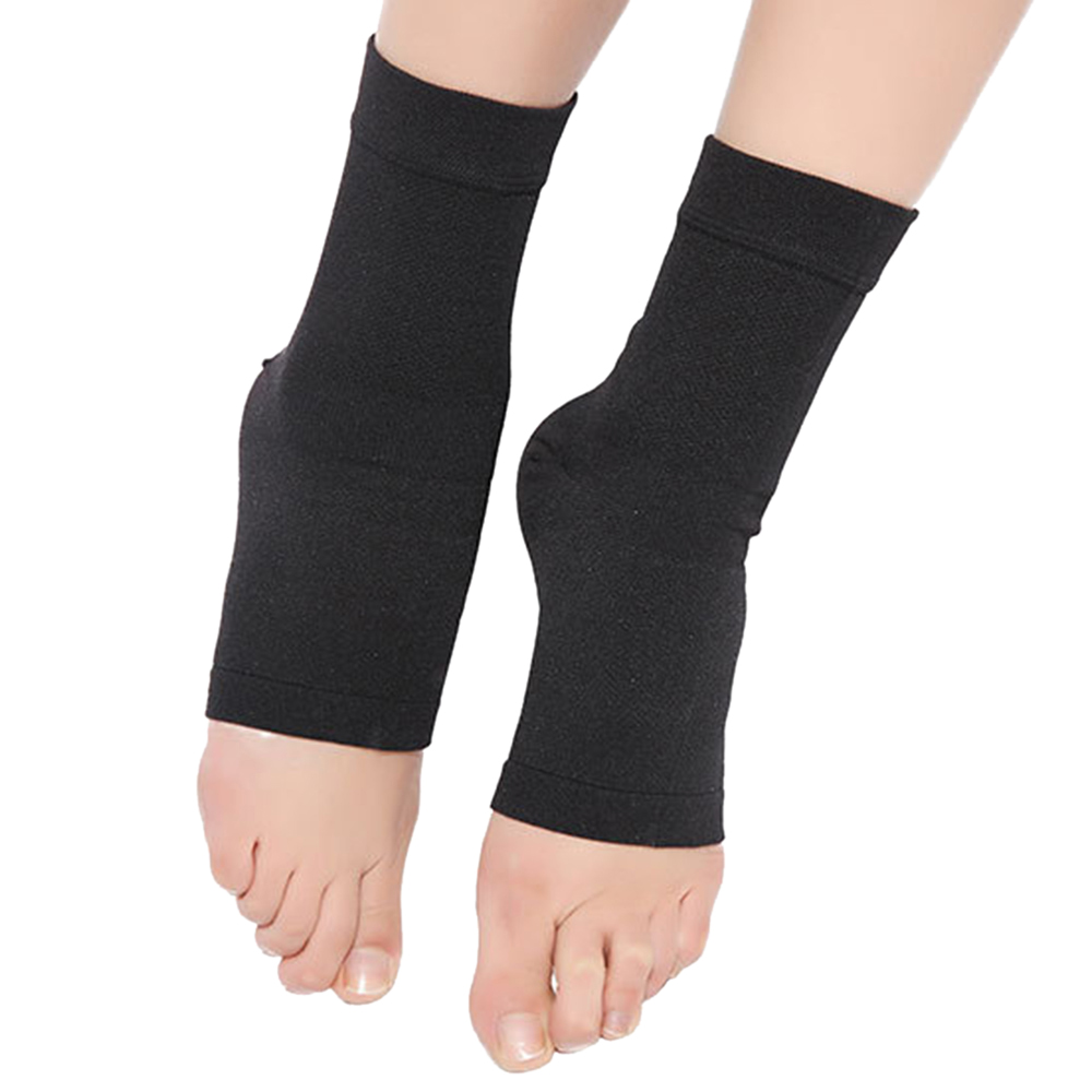 1pcs Women Polyester Compression Ankle Breathable Elastic Support Ankle Foot Protection Sport Fitness Medical Compression Ankle