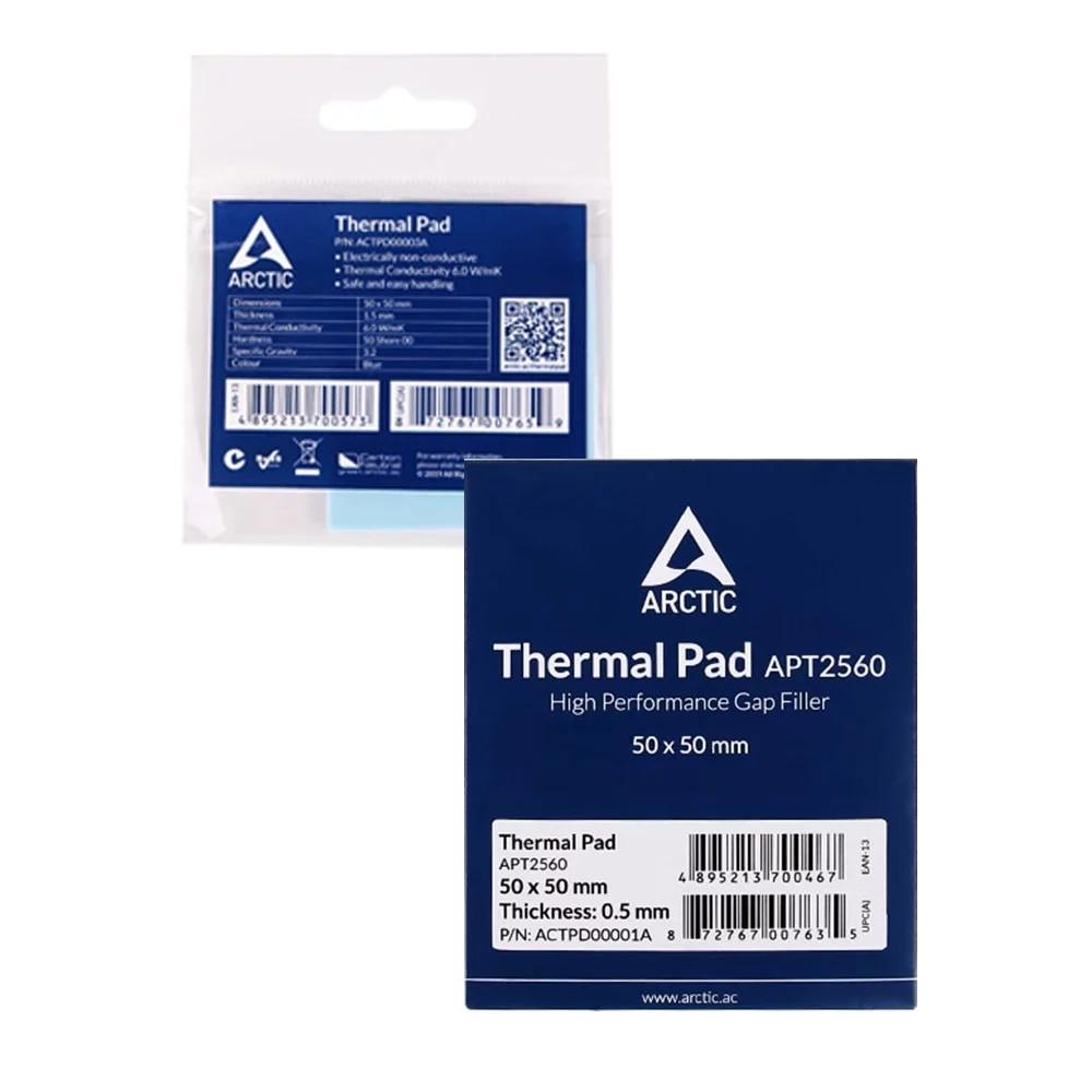 ARCTIC AC Thermal pad 6.0 W/mK 0.5/1.0/1.5mm High Efficient thermal conductivity Original authentic Arctic Thermal pad 5