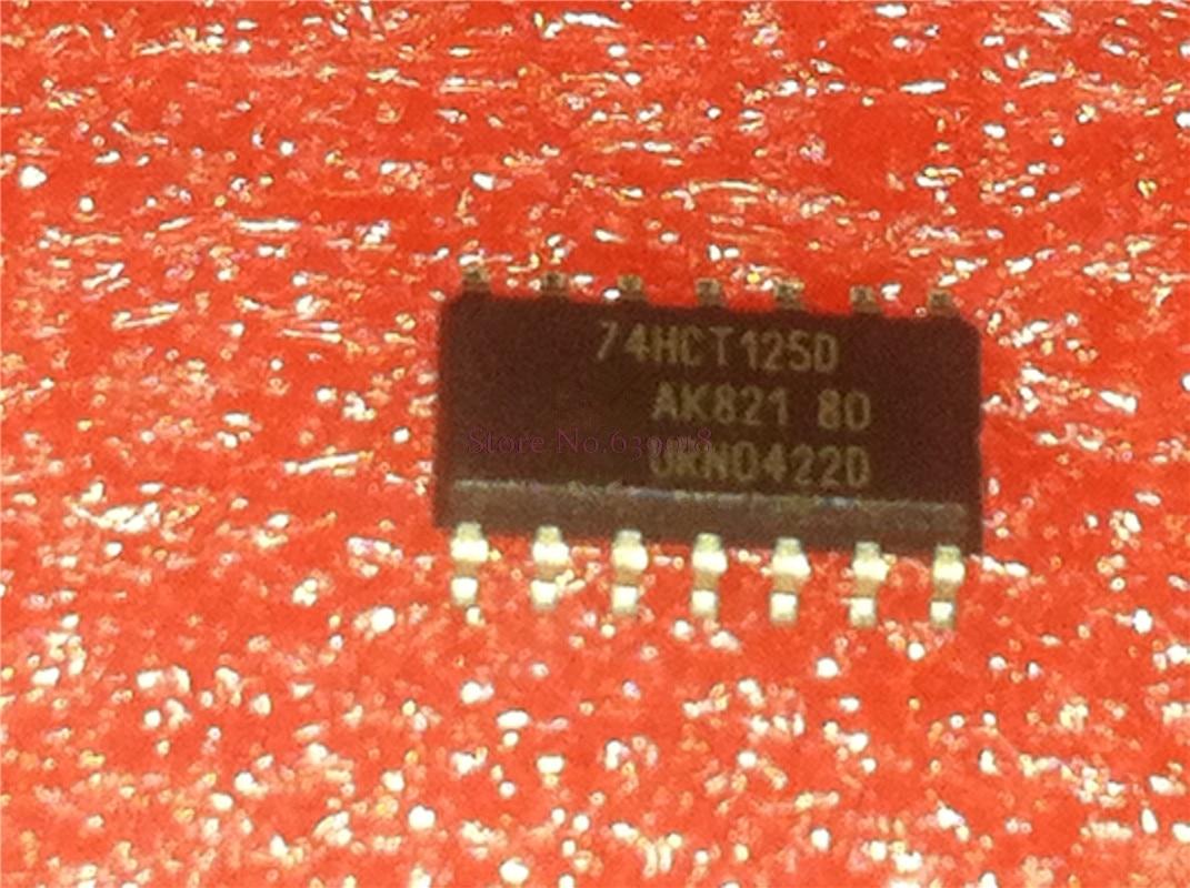 10pcs/lot SN74HCT125D 74HCT125 HCT125 SOP-14 SN74HCT125DR