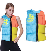 Neoprene Adults Life Vest Jacket Water Ski Wakeboard Swimming Life Jackets Buoyancy Surfing Life Vest Swimming Floating Cloth
