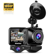 Buy WonVon Car Dash DVR Camera Dual Lens WiFi Dash Cam HD 1080P Night Vision Vehicle Video Recorder WDR Dashcam for Uber Lyft Taxi directly from merchant!