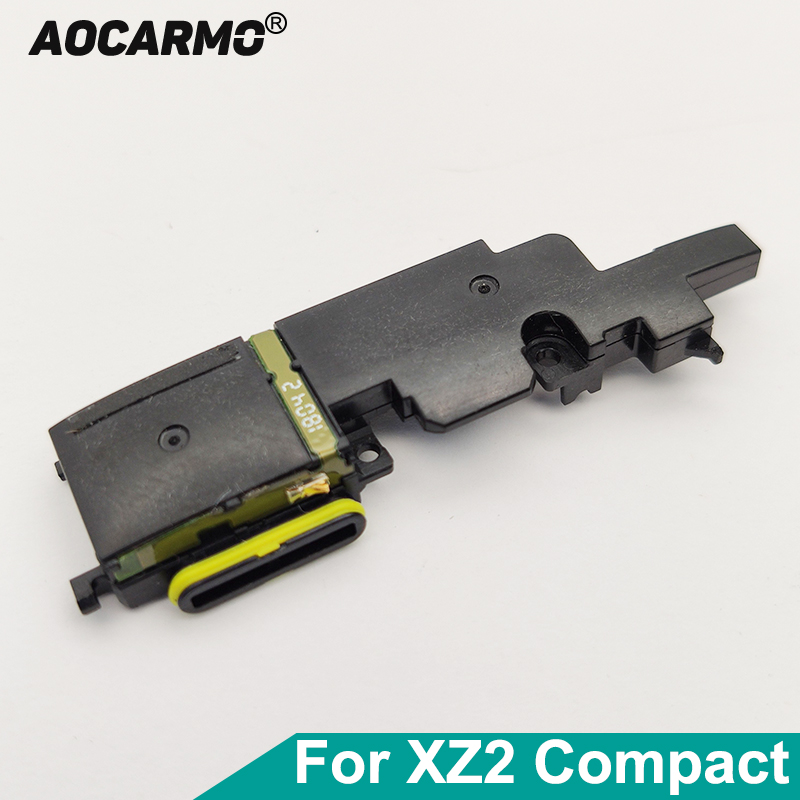 Aocarmo Bottom Buzzer Ringer Loudspeaker Speaker Flex Cable Assembly For Sony Xperia XZ2 Compact XZ2C H8314 H8324 SO-05