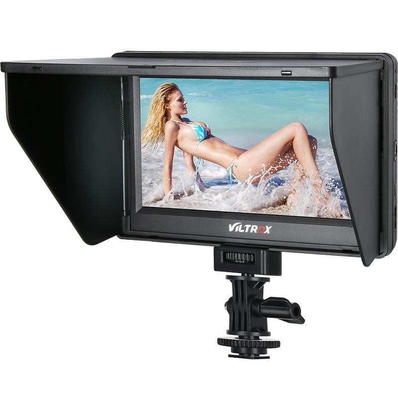Viltrox 7 ''DC-70 II 1024*600 HD LCD HDMI AV entrée caméra moniteur vidéo moniteur de champ d'affichage pour Canon Nikon DSLR BMPCC