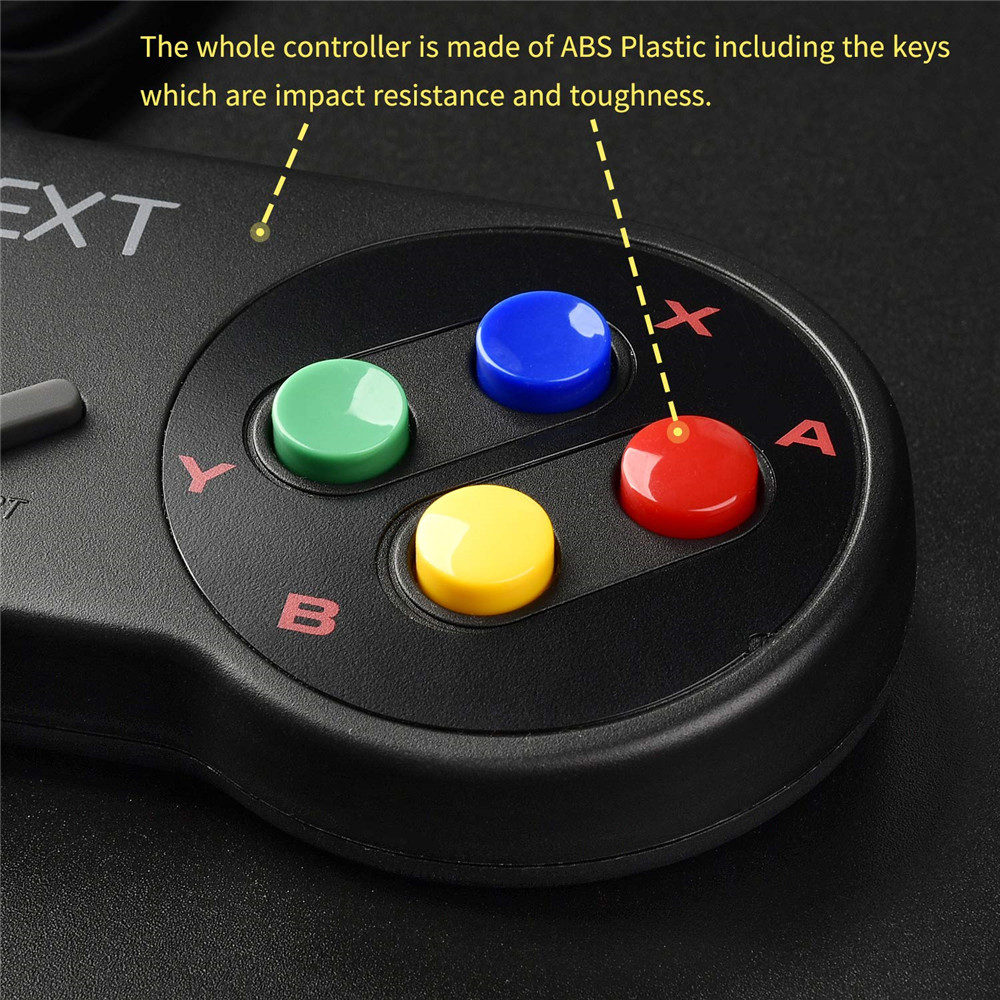 lowest price 4pcs lot SNES USB Game Controller Gaming Gamepad for Nintendo SNES Game Pad for Windows PC MAC Raspberry