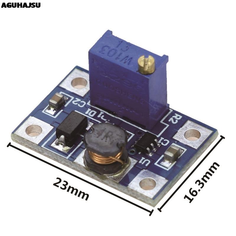 5 teile/los 2-24V zu 2-28V 2A DC-DC SX1308 Step-UP Einstellbare Power Module step Up Boost Konverter für DIY Kit