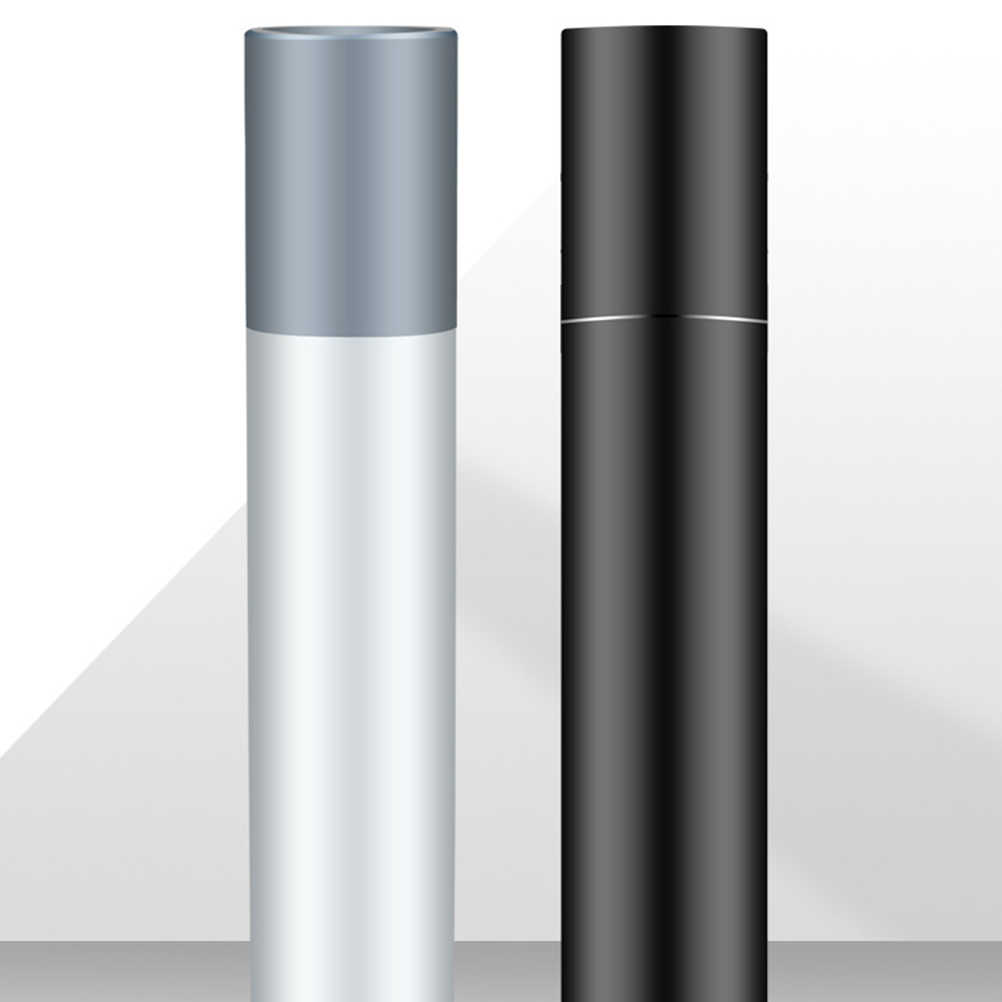 Banco de energía LED linterna recargable 2600mah powerbank antorcha 3 modos interruptor zoom lente integrada en batería para camping xiaomi