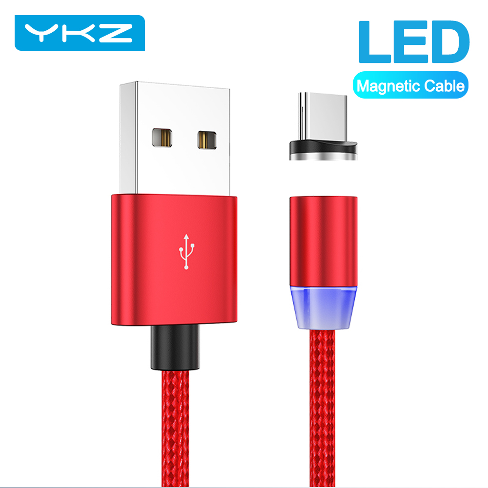 YKZ Magnetic USB Cable for Huawei Samsung Type C Type C Charging USB C Magnet Cable Micro USB Mobile Phone Cord Wire for iPhone|Mobile Phone Cables|   - AliExpress