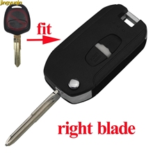 цена на 2 Buttons Right Blade Modified Remote Car Key Shell Case for Mitsubishi Outlander Lancer Evolution Grandis Styling