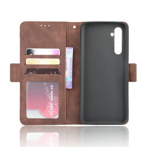 Image 5 - Leather Wallet Removable Card Slot Phone Shell for OPPO Realme 6 Pro Flip Case Realme 6i 6s 6Pro Luxury Case Real Me 6 i 6 s i6