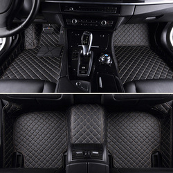 Кожаный заказ автомобиля Пол коврик для ног Mercedes Benz E class E200 E260 E300 E320 E400 W211 T211 W212 W213, GLK300 GLK260 X204