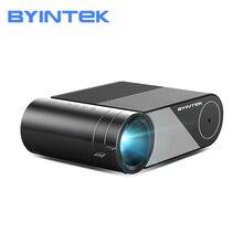 BYINTEK K9 Full HD 1080P Mini LED Di Động Video Máy Chiếu Gia Đình (Tùy Chọn Wifi Màn Hình Hiển Thị Thông Minh điện Thoại Máy Tính Bảng)