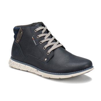 FLO BROLIN brązowe męskie buty KINETIX tanie i dobre opinie Podstawowe Sztuczna skóra ANKLE