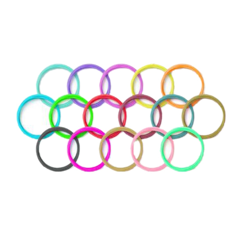 Bilgisayar ve Ofis'ten 3D Baskı Malzemeleri'de PCL 1.75Mm 3D kalem Filament 15 renkler  düşük sıcaklık 3D kalem plastik  3D baskı Filament title=