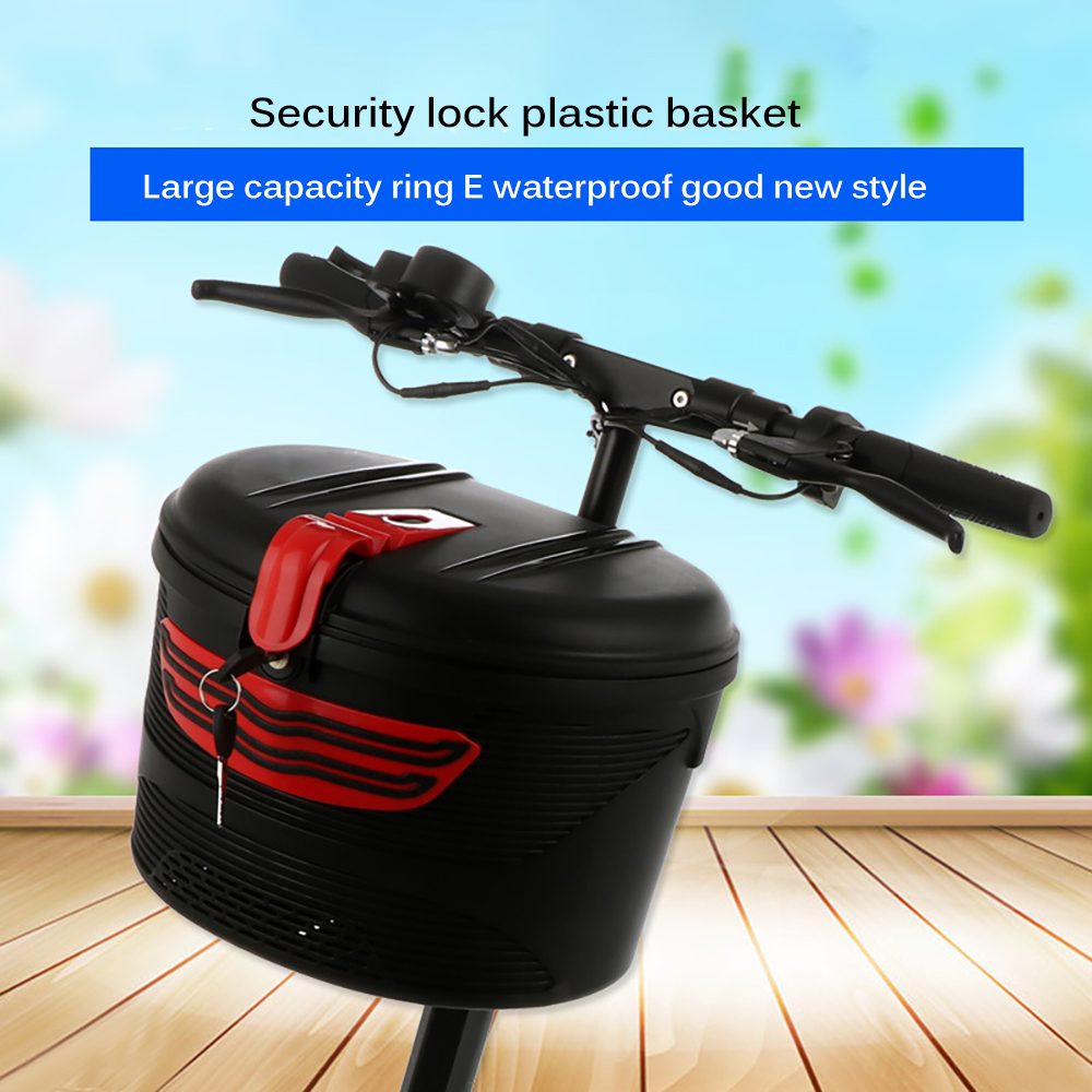 Durable Electric Folding Bicycle Carrying Basket Storage Bag for Xiaomi M365 ES1