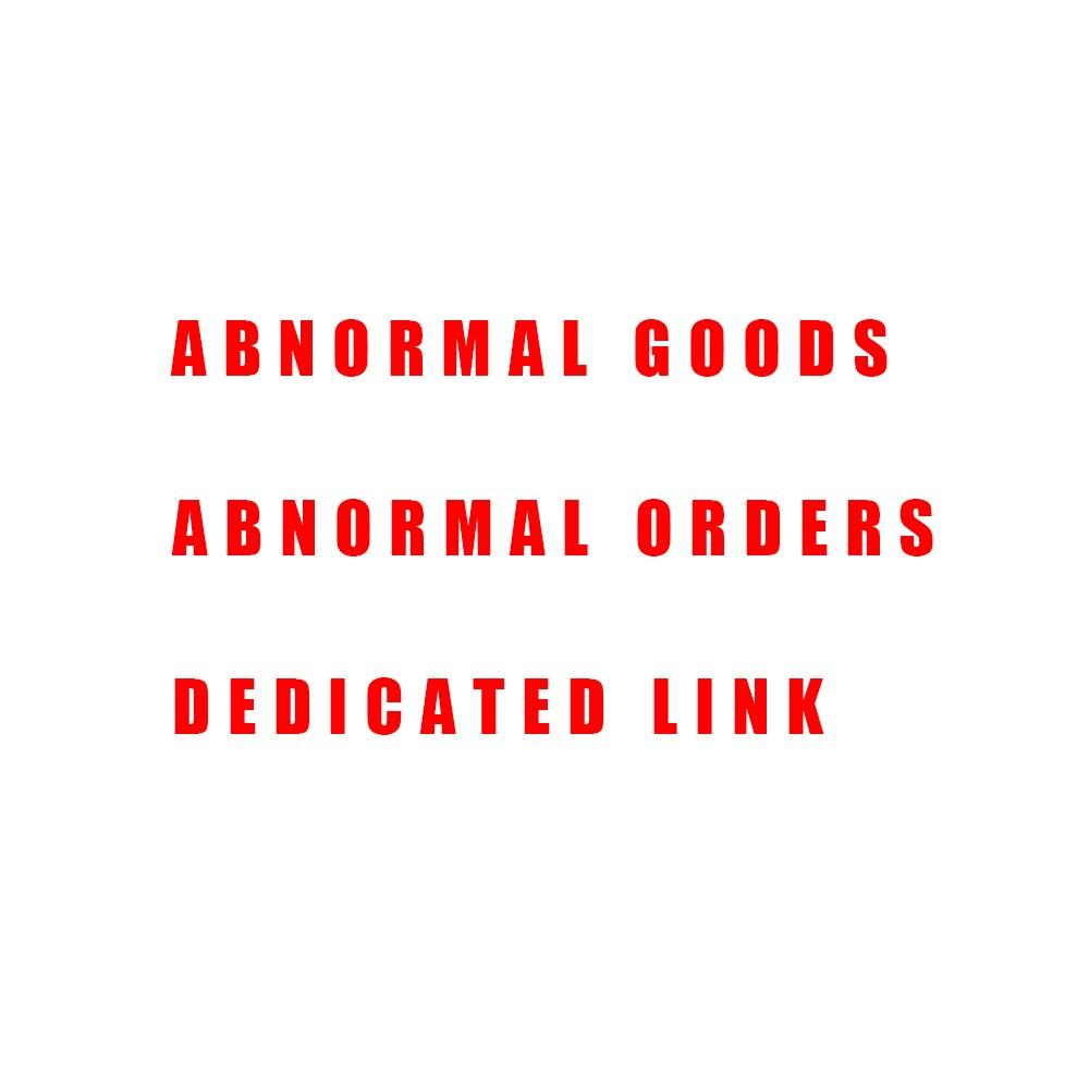 Abnormal Goods Abnormal Orders Dedicated Link 1