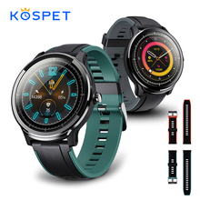 KOSPET Probe IP68 Waterproof SmartWatch Men Full Touch Round Screen Heart Rate Monitoring Smart Watch Men Women Fitness Bracelet