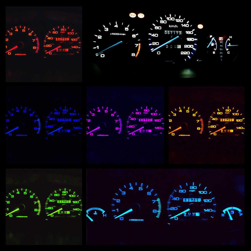 WLJH 23x أداة داش العنقودية المقياس 12v مجموعة إضاءة LED يناسب 1992-2000 هوندا سيفيك EG EX EK EJ SRS DX LX EX سي HX سيفيك ديل سول