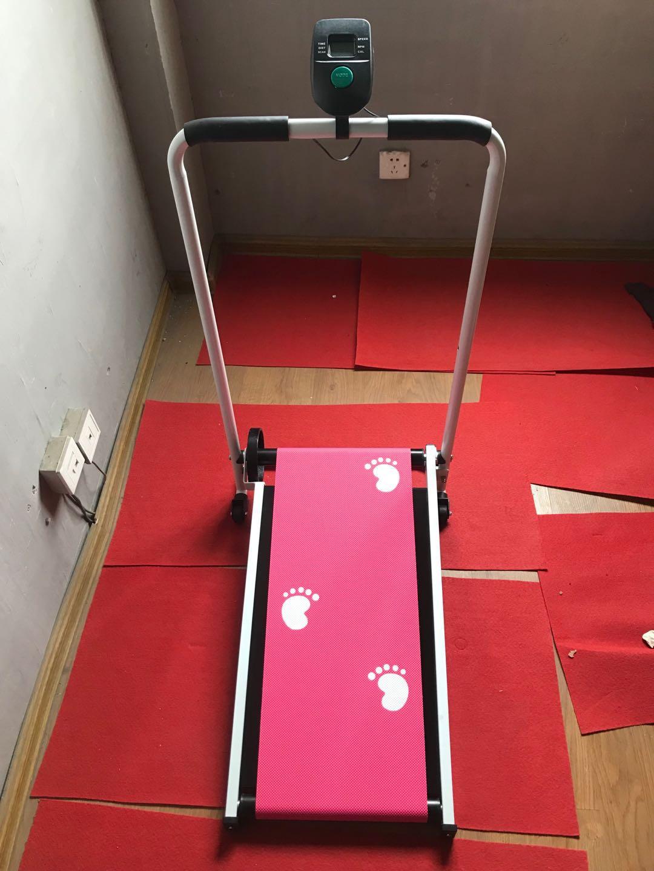 Tapis roulant pliable électrique LED affichage jogging espace marche Machine aérobie Sport Fitness équipement pas d'espace de plancher facile à déplacer - 3