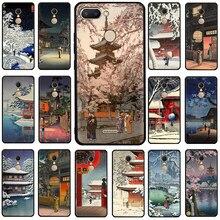 Ukiyo-e Tokyo Japanese Art Silicone phone case for