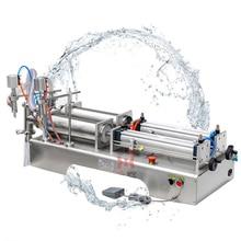 110V 220V ножной контроль пневматическая жидкость машина для наполнения нержавеющей стали с двойной головкой количественная машина для наполнения жидкостью