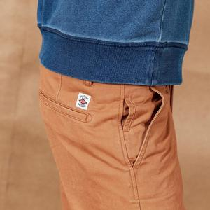 Image 4 - SIMWOOD 2020 spring New Solid Pants Men Classical basic trousers 100% cotton high quality male brand clothing 190435