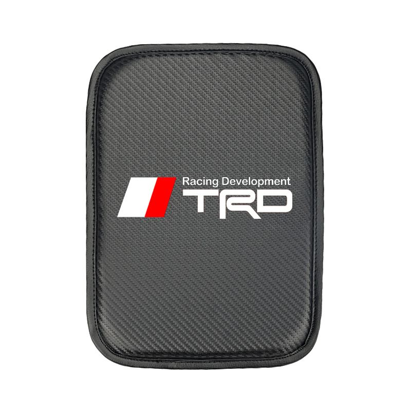Car Styling for Toyota TRD camry corolla rav4 yaris prius Car Armrest Pad Covers Auto Seat Armrests Storage Protection Cushion-in Car Tax Disc Holders from Automobiles & Motorcycles
