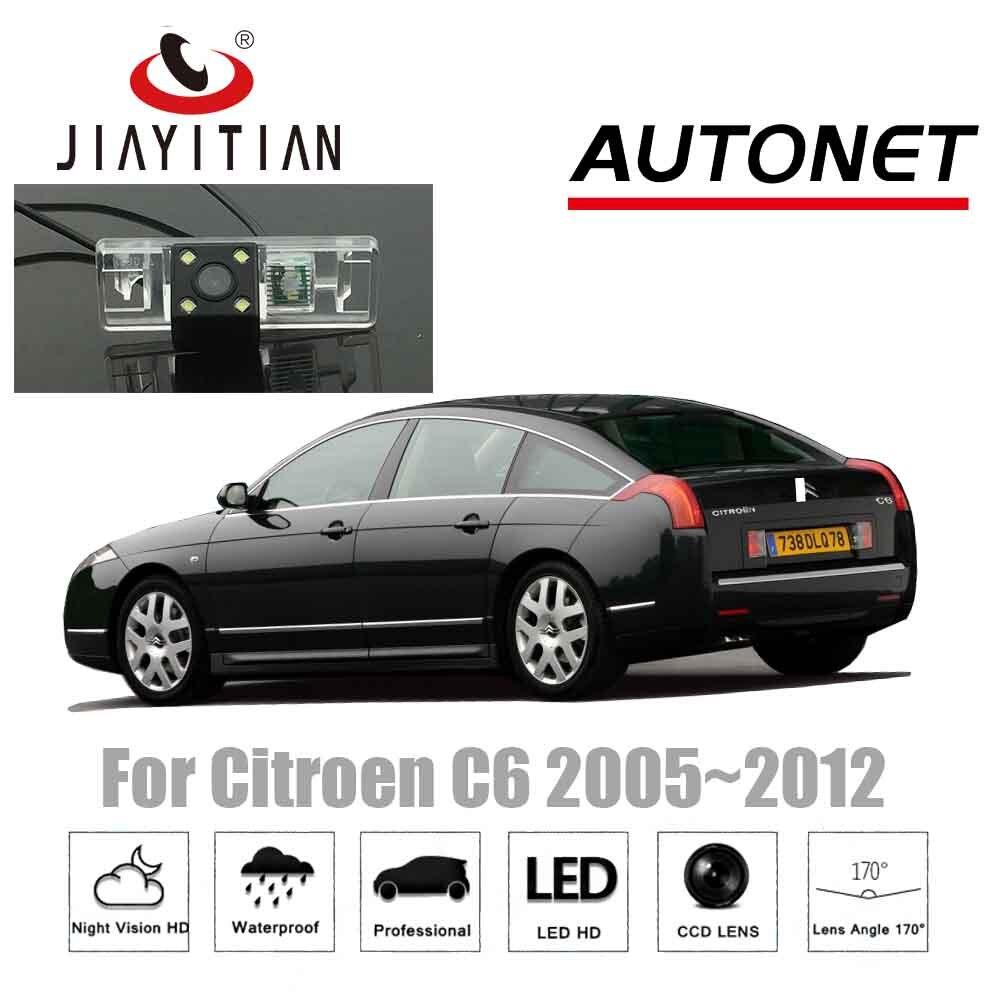 Камера заднего вида JIAYITIAN для Citroen C6 c6 2005 ~ 2012 CCD, камера ночного видения, парковочная камера, номерной знак, камера заднего вида