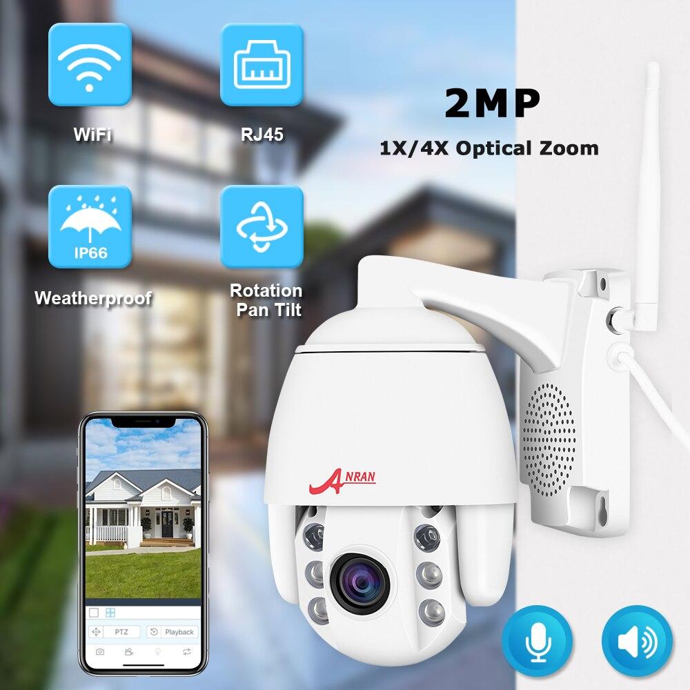 1080P 2MP PTZ IP камера Wifi уличная водонепроницаемая Мини скоростная купольная камера H.264 CCTV камера безопасности видео наблюдение