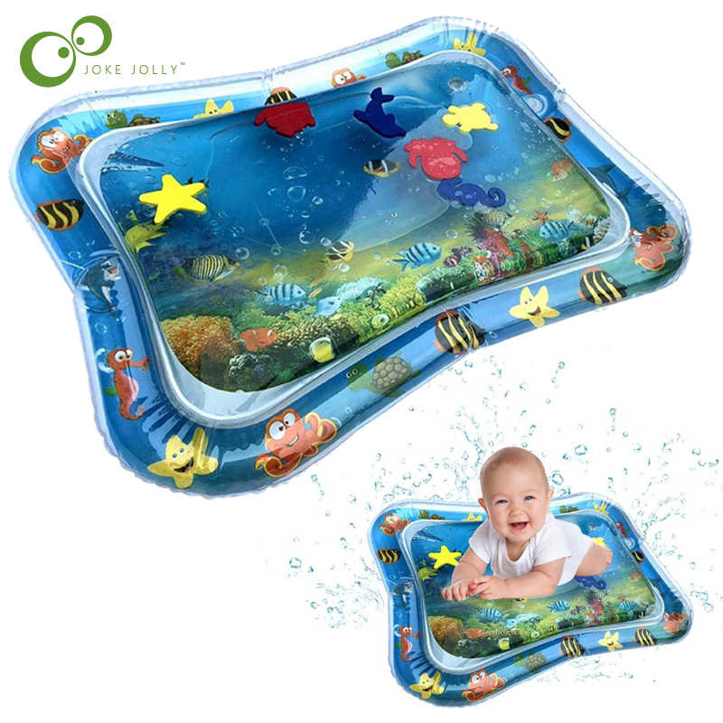 Baby Inflatable Patted Pad Baby Inflatable Crawling Water Cushion Water Play Mat for Infants Free Shipping GYH