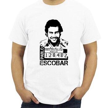 Camiseta de gángster, Pablo Escobar, Weed, Mafia, Scareface, Luciano, Capon, camiseta para hombre, camisetas, ropa Casual de calle 4X 5X