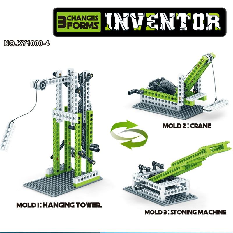 Engineering Science Gear Blocks 3